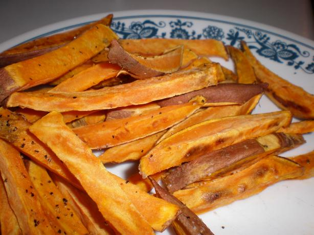 Unfried Sweet Potato Fries. Photo by mailbelle