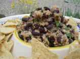 Black Bean-Salmon Dip