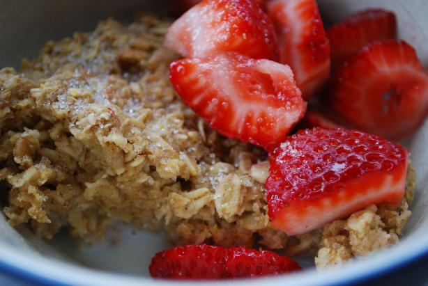 Healthy Baked Oatmeal. Photo by Nichola M