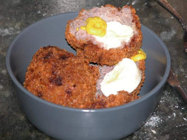 Scotch Eggs. Photo by moxiepurple