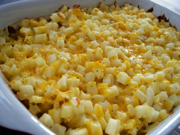Cracker Barrel Hash Browns Casserole (Copycat). Photo by *Parsley*
