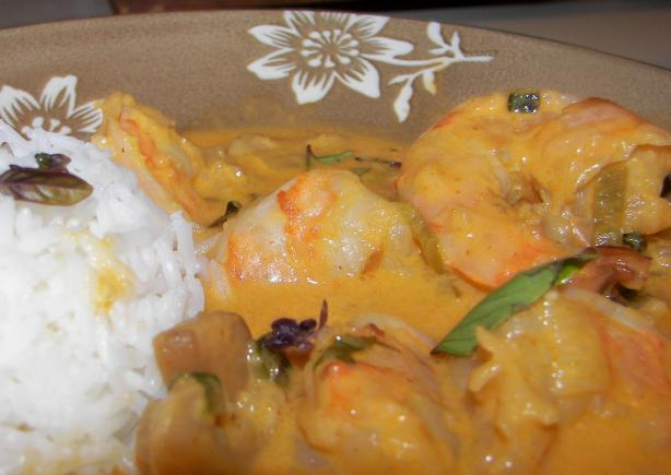 Thai Shrimp and Vegetable Curry. Photo by Baby Kato