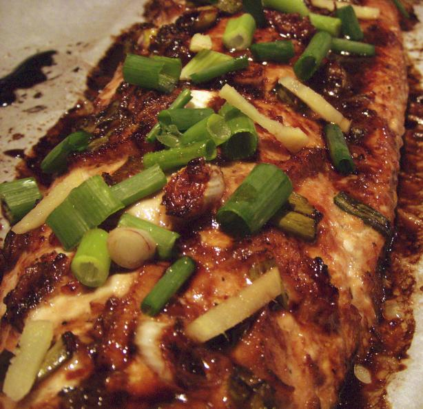 Lemon Ginger Salmon. Photo by Elly in Canada