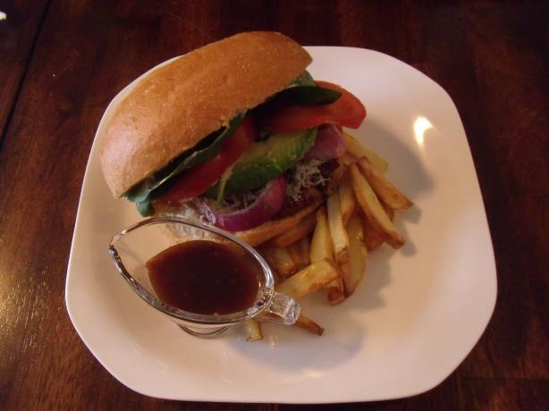 Oprah's Favorite Turkey Burger. Photo by Jenny M