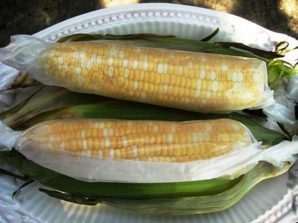 Microwave Corn on the Cob. Photo by gailanng