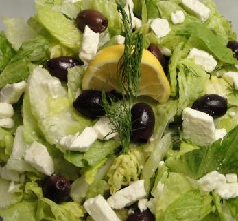 A Different Greek Salad. Photo by Debbwl