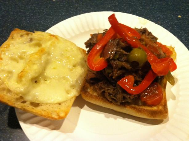 Chicago Italian Beef. Photo by WokRokr