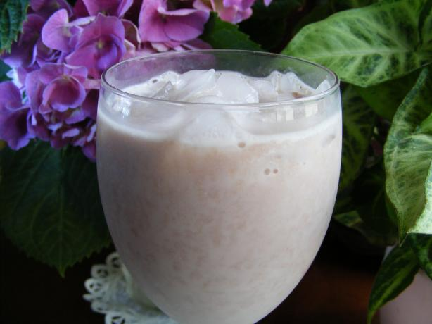 Banana & Milo Smoothie. Photo by Seasoned Cook