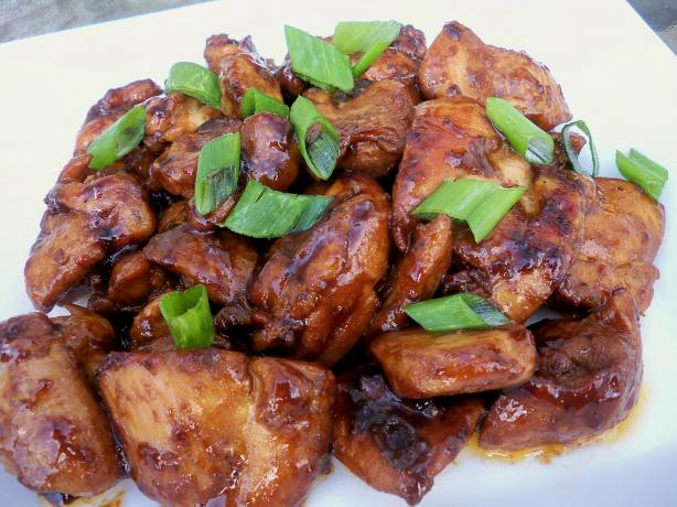 Bourbon Chicken. Photo by *Parsley*