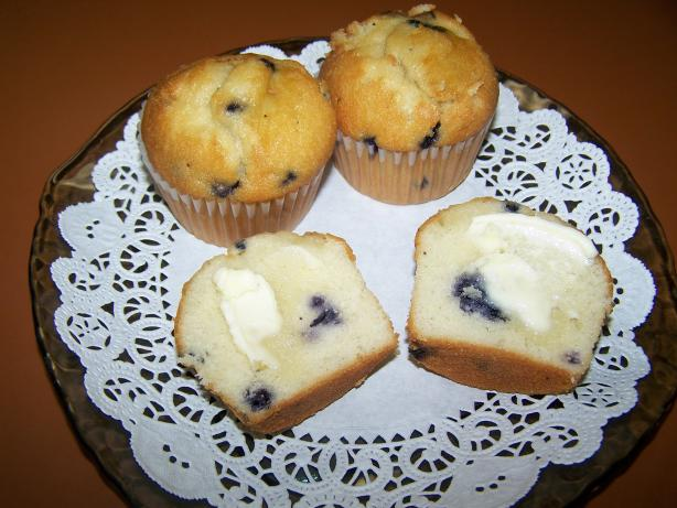 Anna's Blueberry Mini Muffins. Photo by Chef PotPie