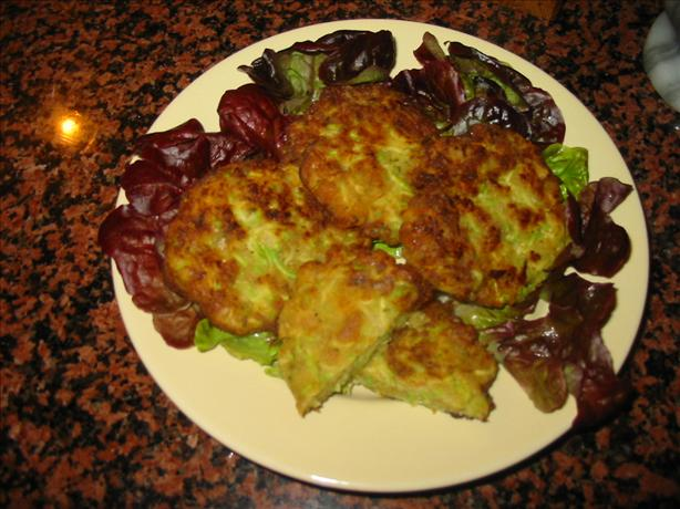 "Zucchini ""Crab"" Cakes. Photo by canarygirl"