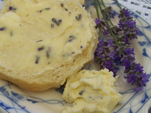 Anna Olson's Honey Lavender Butter. Photo by Diana #2