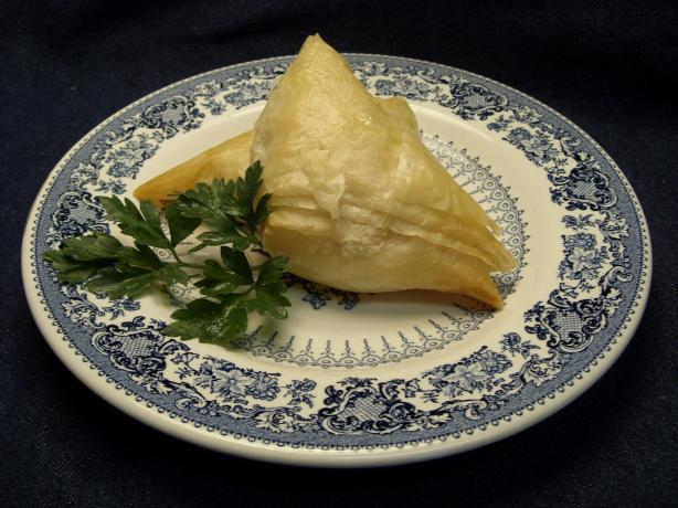 Tyropites (Cheese Pastries). Photo by Mulligan