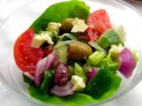 Greek Village Salad (Nick and Marina Makris Horiatiki Salad)