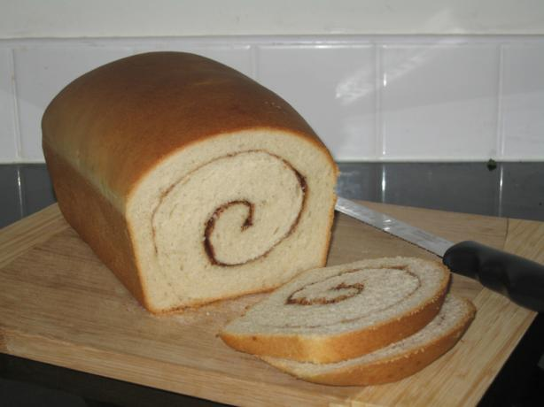 Sourdough Cinnamon Swirl Bread. Photo by Cass81