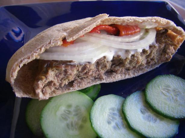 Grecian Meatloaf Gyros. Photo by puppitypup