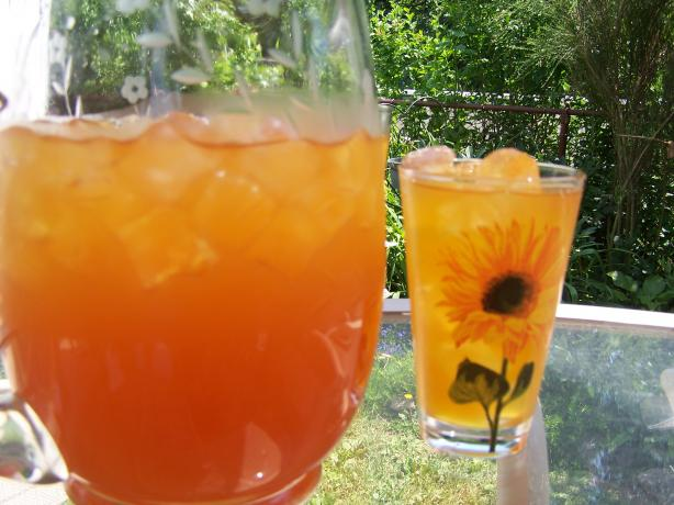 Iced Rooibos and Mango Tea. Photo by Rita~