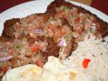 Silpancho (Traditional Bolivian Meal)