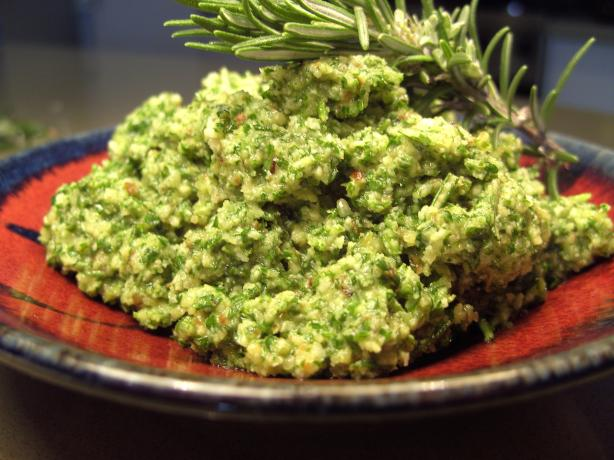 Rosemary Pesto. Photo by JustJanS