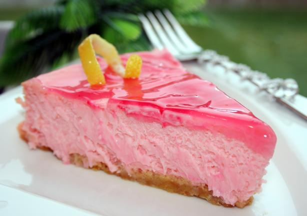 Pink Lemonade Cheesecake. Photo by **Tinkerbell**