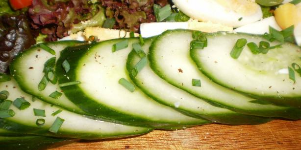 Hungarian Cucumber Salad. Photo by Tisme
