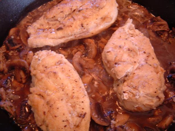 Chicken &amp; Mushrooms (Greek Style). Photo by mliss29