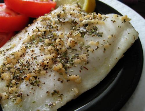 Herb-Steamed Chilean Sea Bass. Photo by Caroline Cooks