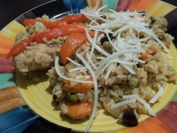 Arroz Con Pollo Chapina (Guatemalan Chicken and Rice). Photo by rpgaymer