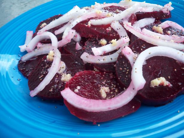 Beet and Onion Salad. Photo by *Parsley*