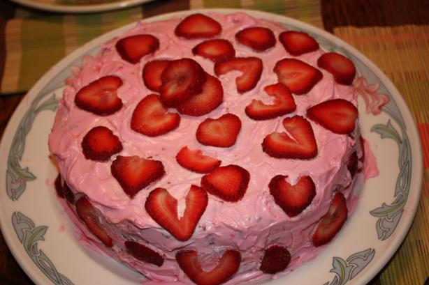 Strawberry Bundt Cake With Lemon Glaze Drizzle (Uses Cake Mix). Photo by Chef #1194253
