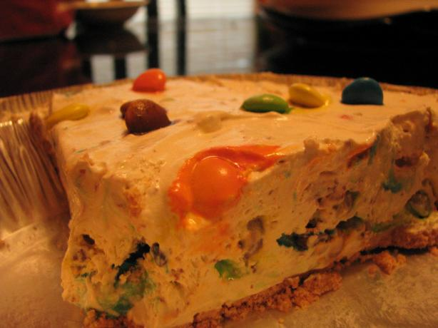 Frosty M&m Pie (Or Toffee Bits, Butterfingers, Etc.) No Bake. Photo by Tara_hearts