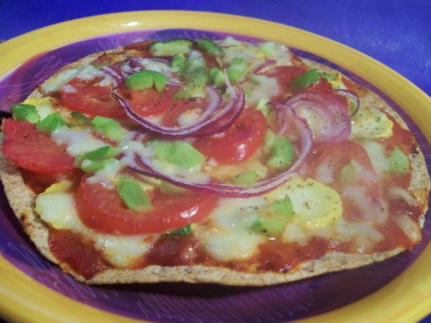 Rainbow Veggie Pizza. Photo by Sharon123
