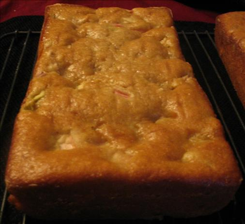 Rhubarb Nut Bread. Photo by spatchcock