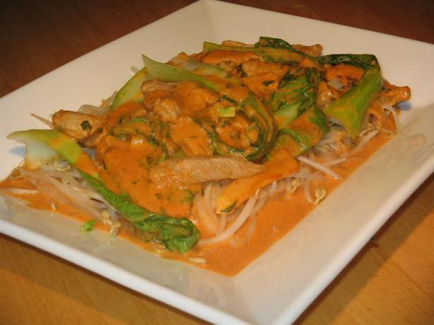 Red Curry Pork With Apple. Photo by The Flying Chef