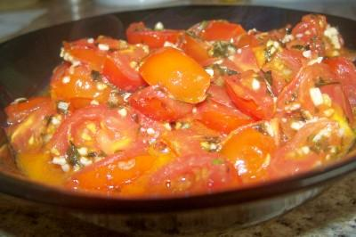 Cherry Tomato Sauce With Lemon. Photo by lauralie41