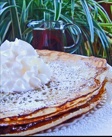 Real Swedish Pancakes (Pannkakor). Photo by Bev