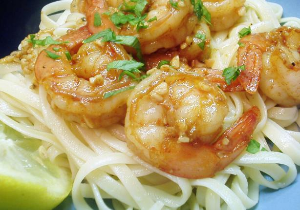 Bird&#39;s Easy Shrimp Scampi. Photo by Kim127