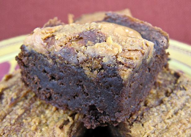 Unbelievable Pumpkin Fudge Brownies. Photo by Kathy at Food.com