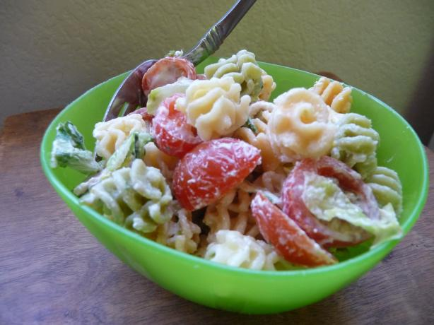 BLT Pasta Salad. Photo by Jillian R