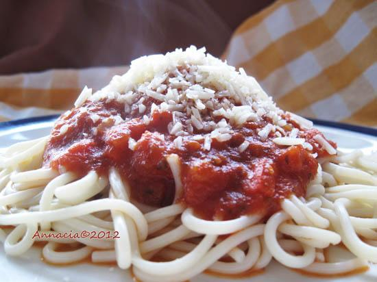 Vegetarian Pasta Sauce. Photo by Annacia