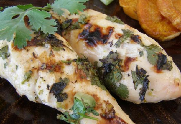 Tequila-Lime Grilled Chicken Breasts. Photo by DuChick
