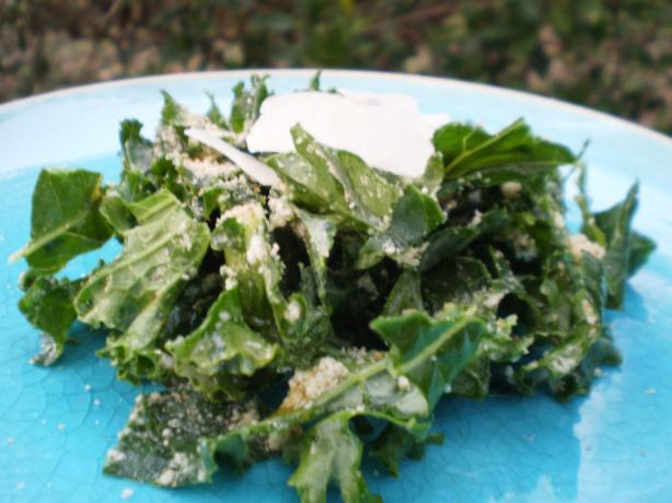 Raw Tuscan Kale Salad With Pecorino. Photo by breezermom