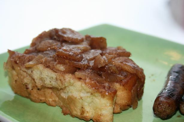Apple French Toast Casserole. Photo by **Tinkerbell**