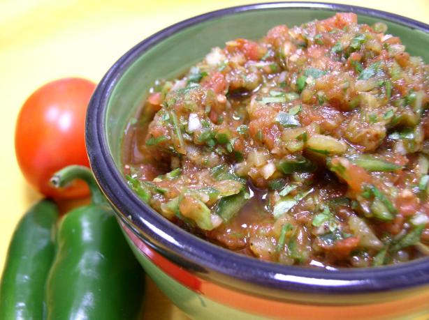 Authentic Mexican Salsa. Photo by Bayhill