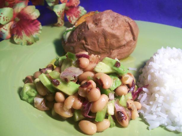 Szechuan Black-Eyed Pea Salad. Photo by Sharon123