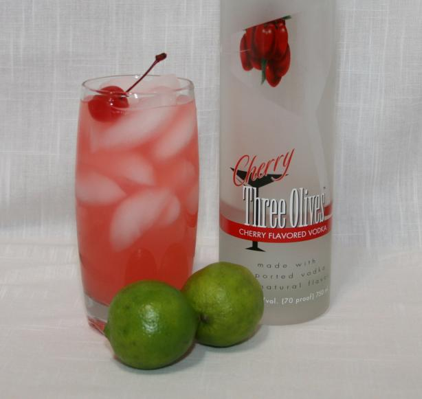 Cherry Vodka Limeade. Photo by Texas Aggie Mom