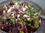 Lentil Salad With Baby Beets &amp; Feta