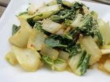 The Best Sauteed Bok Choy