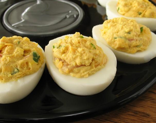 Tex-Mex Deviled Eggs. Photo by Calee