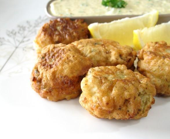 Provincetown Clam Fritters. Photo by Calee